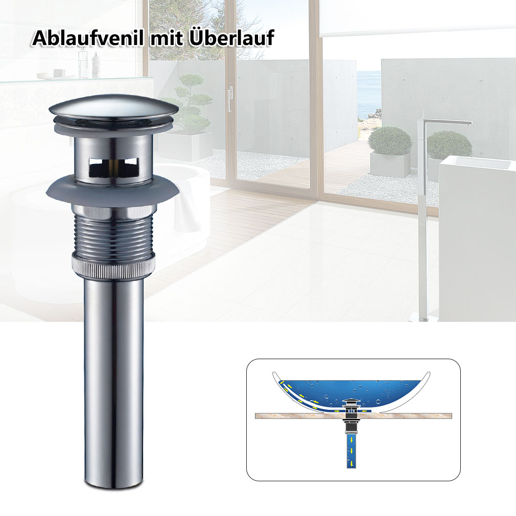 messing ablaufventil siphon f r waschbecken waschtisch ablauf sifon syphon dhl ebay. Black Bedroom Furniture Sets. Home Design Ideas