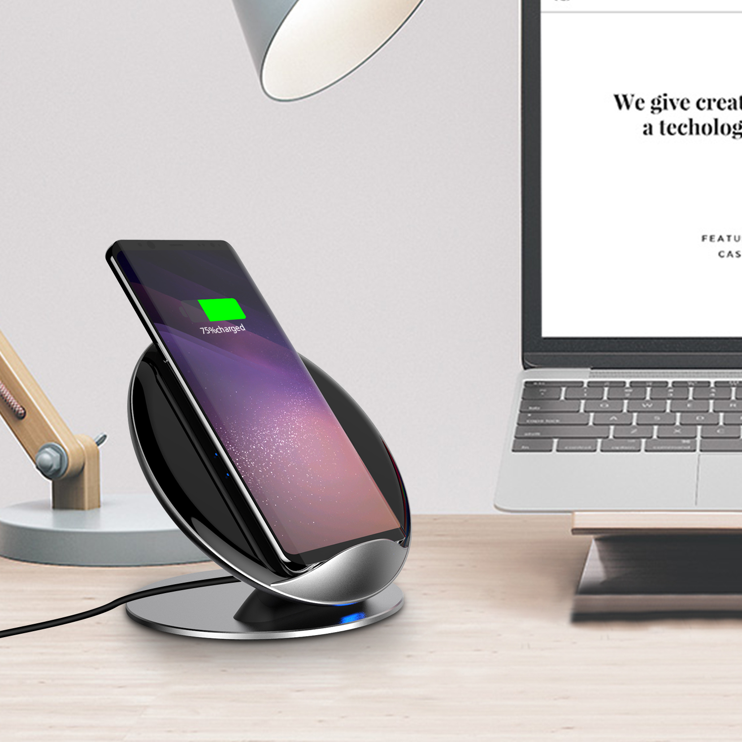 samsung s10 s9 s8 s7 qi induktive ladestation fast wireless charger iphone xs ebay. Black Bedroom Furniture Sets. Home Design Ideas